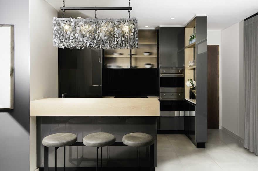 kitchen, Johannesburg / Daffonchio Architects
