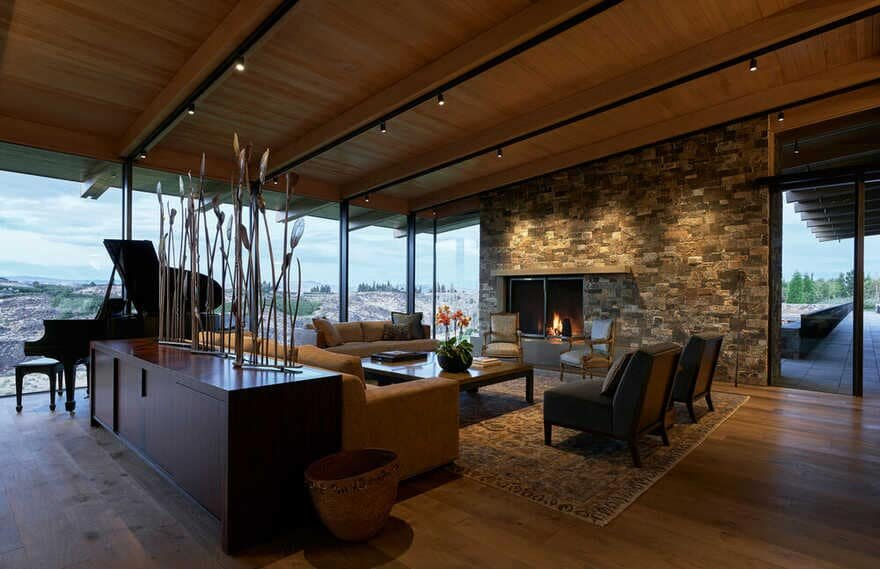 living room / Graham Baba Architects