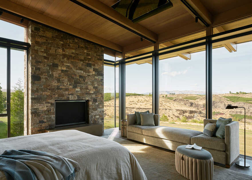 bedroom / Graham Baba Architects