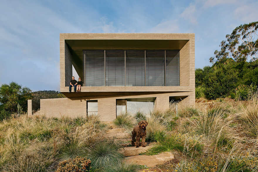 Otago Bay House Topology Studio