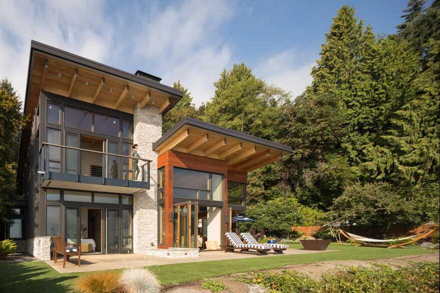 Seaview Escape House, Bainbridge Island Coates Design Architects