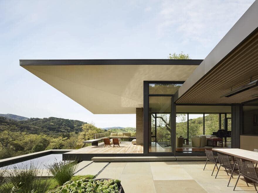 Winged Retreat, Santa Lucia Preserve Aidlin Darling Design