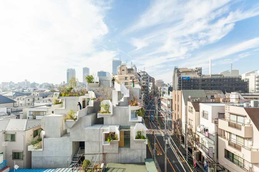 Tree-ness House, Tokyo / Akihisa Hirata