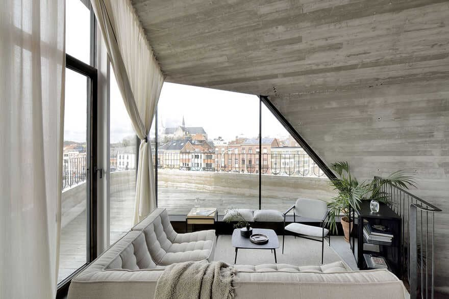 Mini Loft in the Heart of the City of Leuven in Belgium