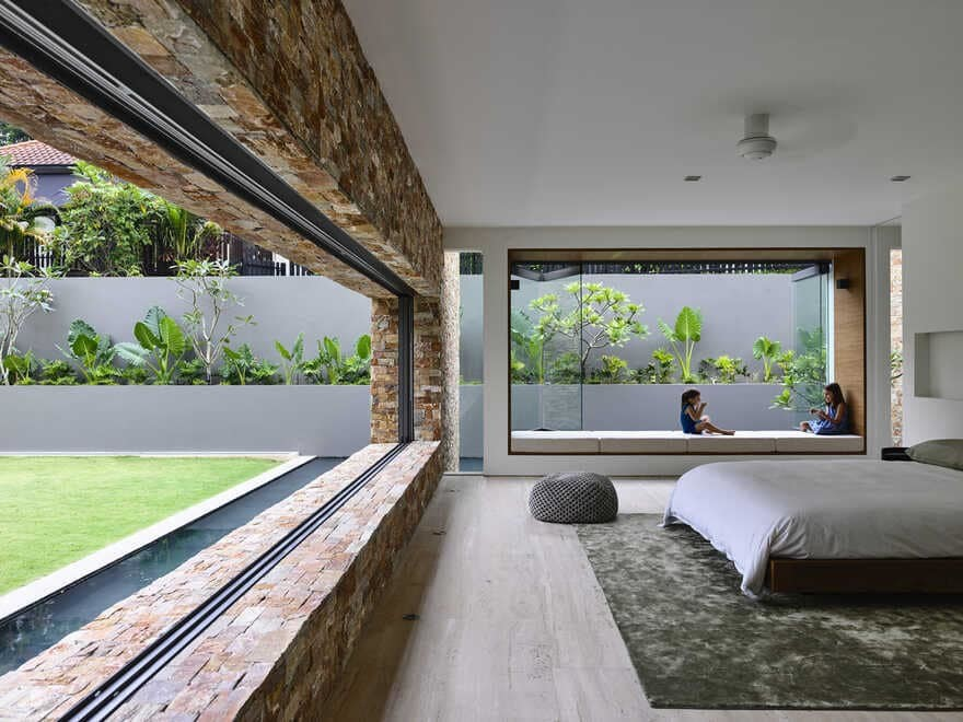 intrinsic integration between architecture, interior design, and landscaping