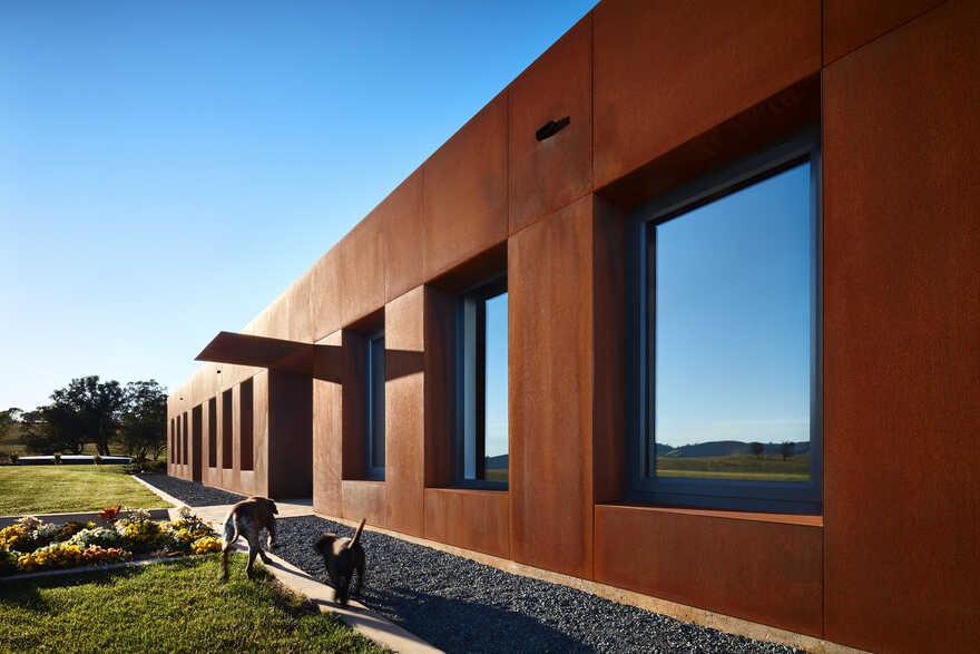 Gundowring House in Tangambalanga, Victoria by Bryant Alsop Architects