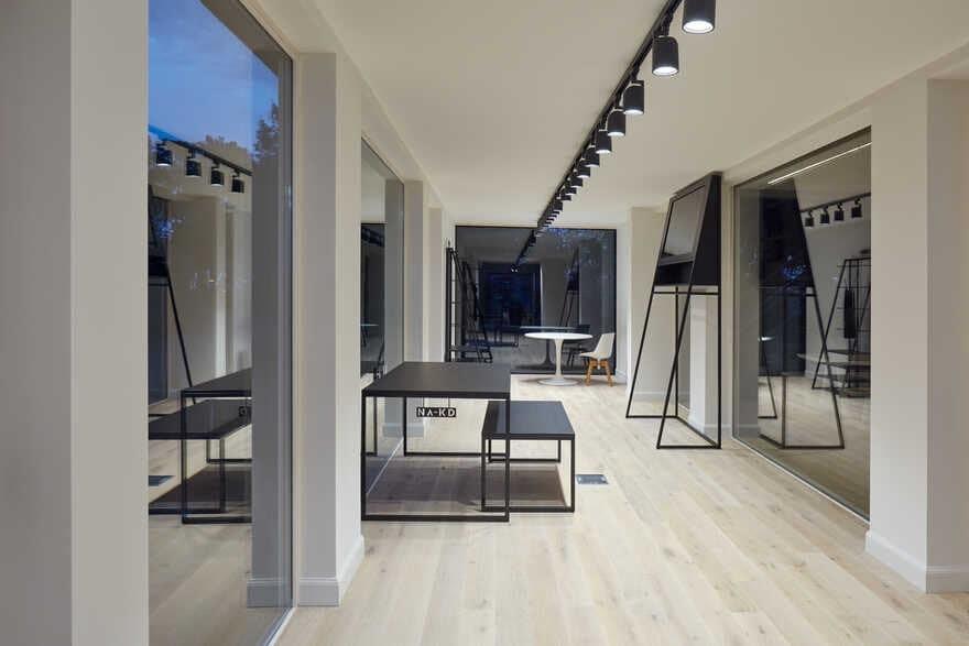 Modular Showroom for GAB by Ark-Shelter