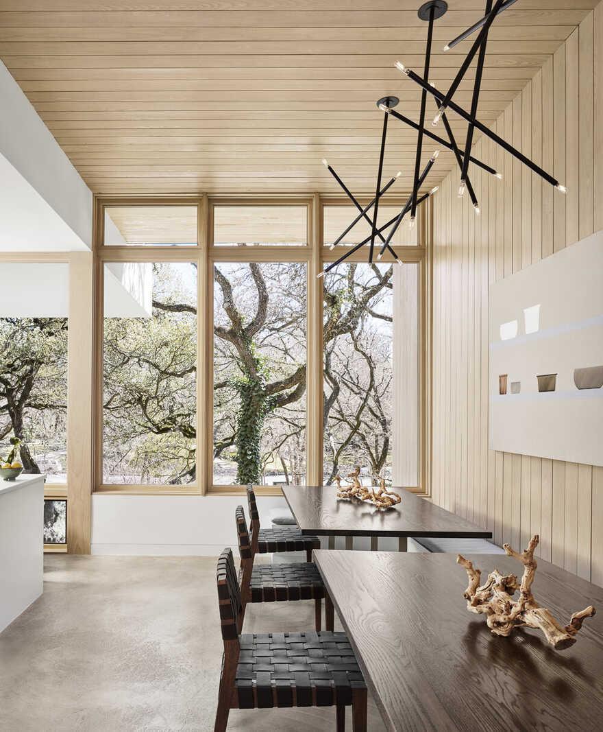 dining room / Matt Fajkus Architecture