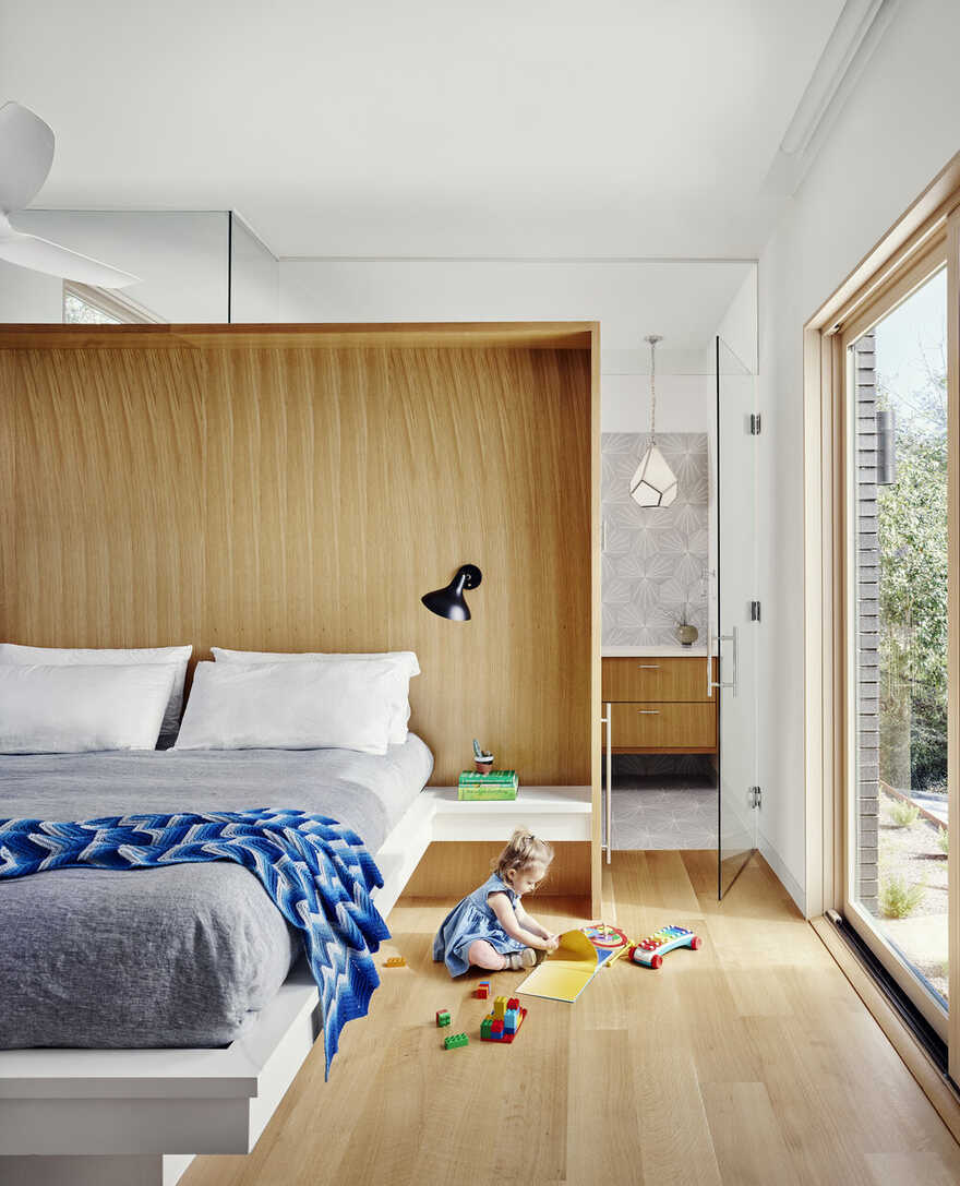 bedroom / Matt Fajkus Architecture