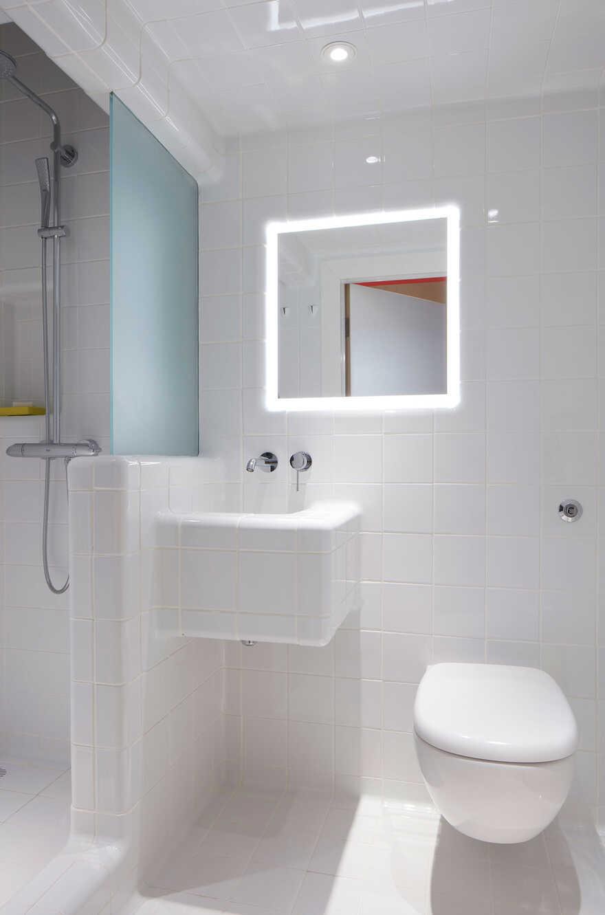 bathroom, London / Ab Rogers Design