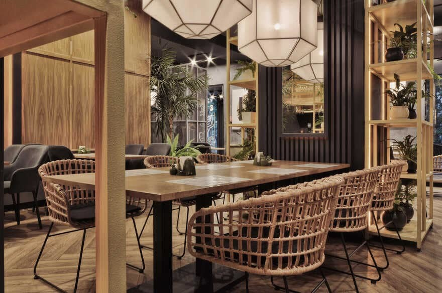 Pan-Asian Cafe Lao Bao / ALLARTSDESIGN