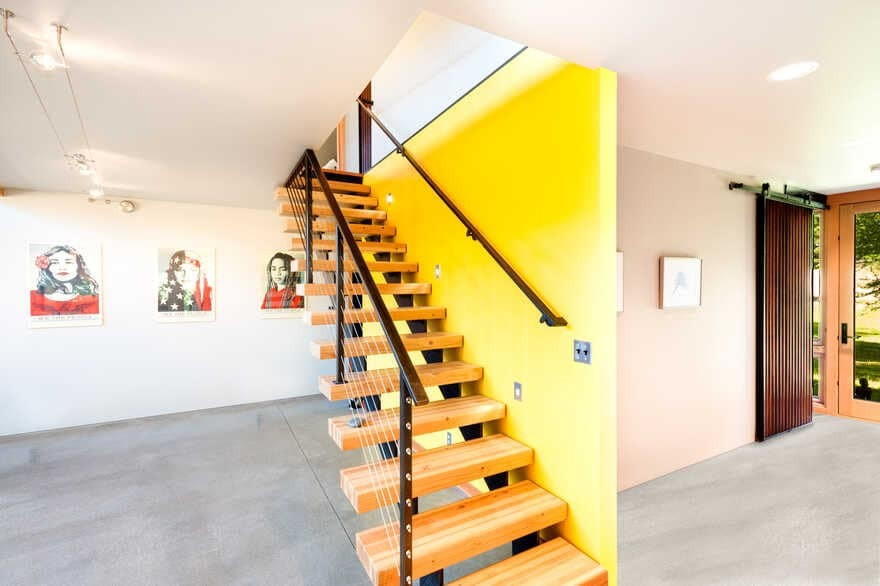 staircase, Coates Design Architects