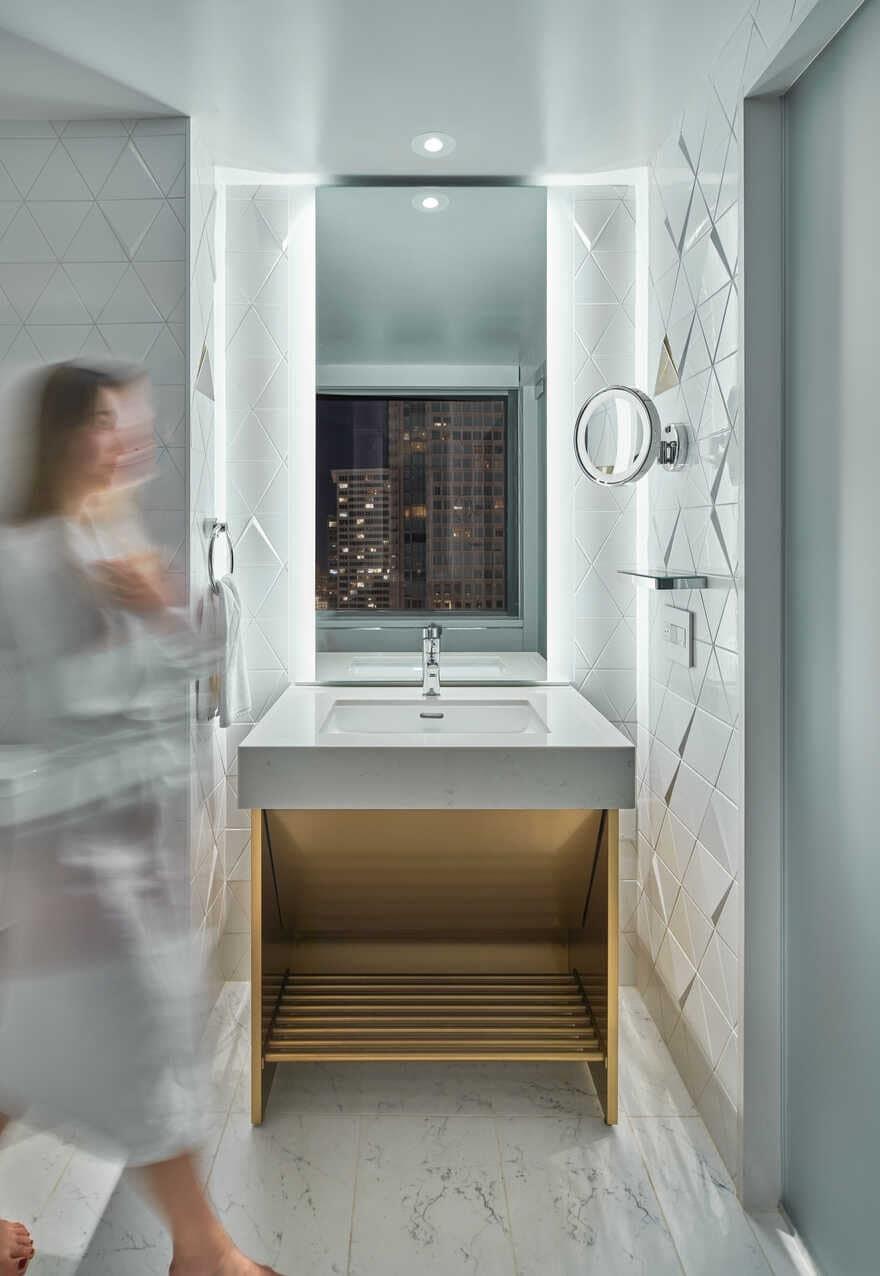 Skylab Architecture, bath room