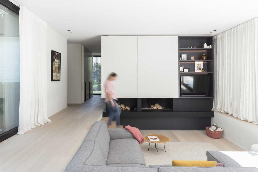 living room / JUMA Architects