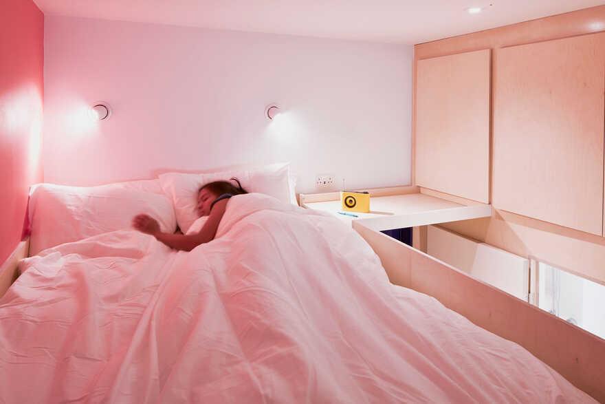 bedroom, London / Ab Rogers Design