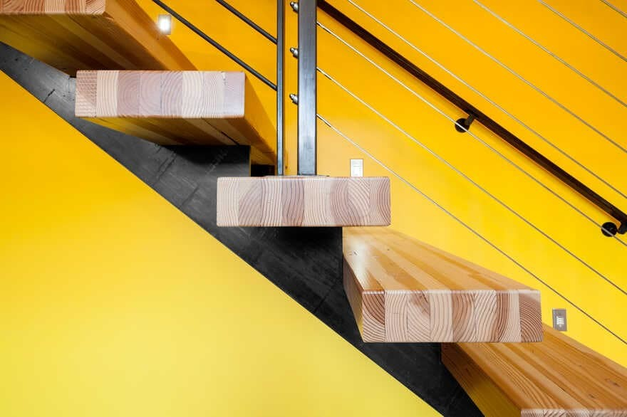 stair by Coates Design Architects