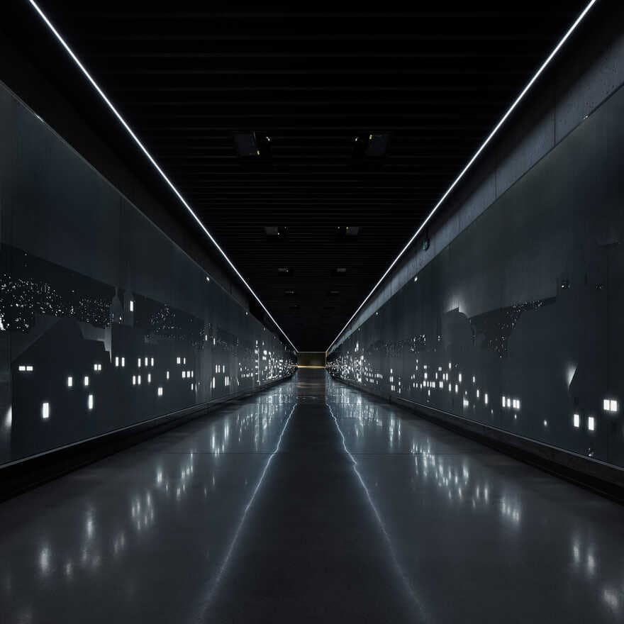 Multimedia Exhibition, Moments of History - The Time Corridor