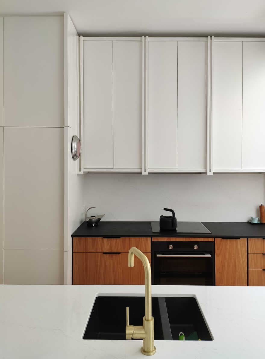 kitchen by Lovell O'Connell Architects