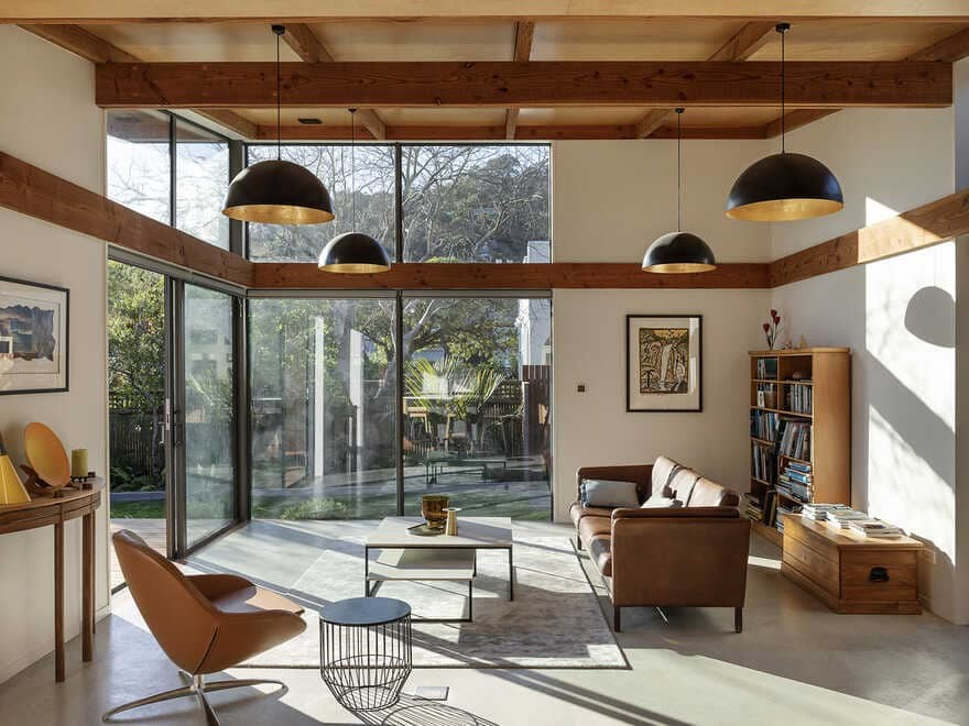living room / Lovell O'Connell Architects