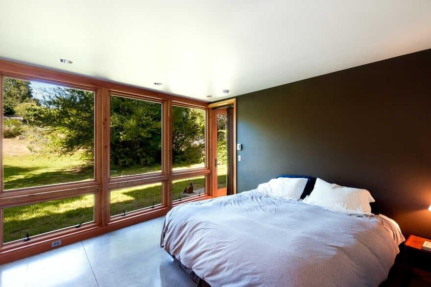 bedroom, Coates Design Architects