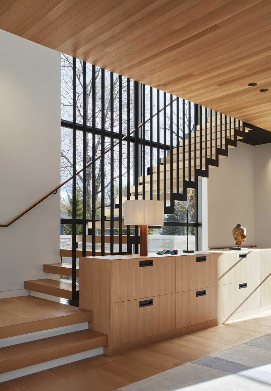 staircase / Wheeler Kearns Architects