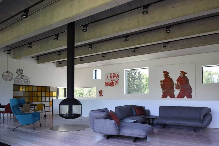 living room / ZUN Architecture and Design