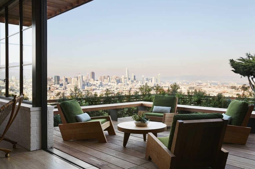Contemporary Urban Retreat, San Francisco / Feldman Architecture