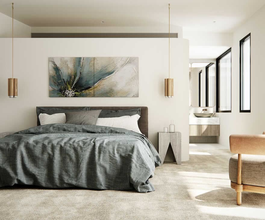 bedroom / Luigi Rosselli Architects