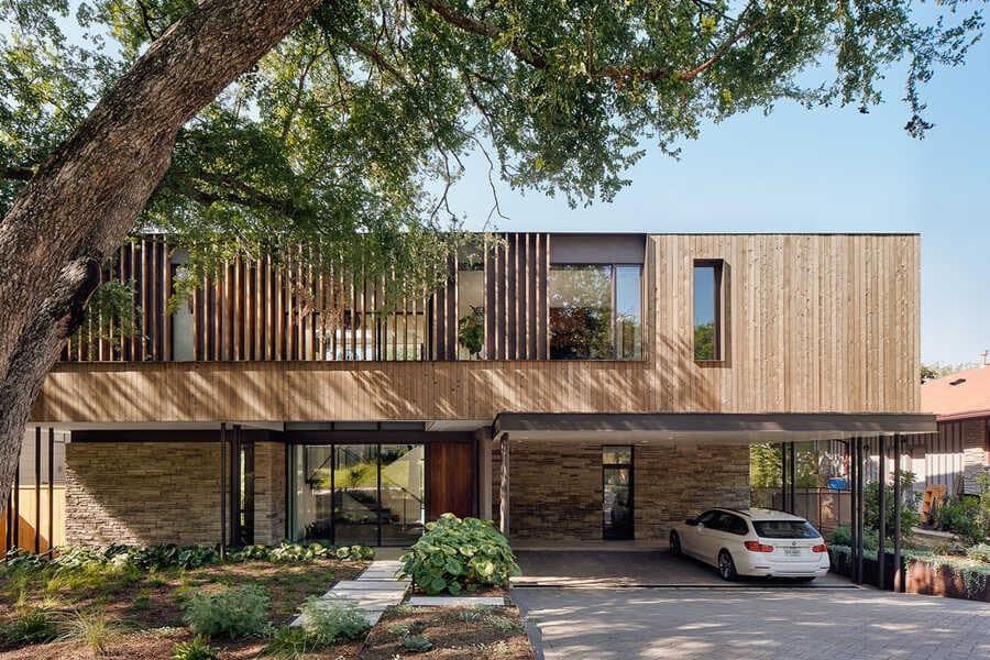 Greenbelt Overlook Residence / Baldridge Architects