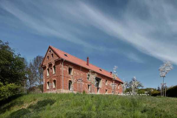 House Inside a Ruin by ORA Studio