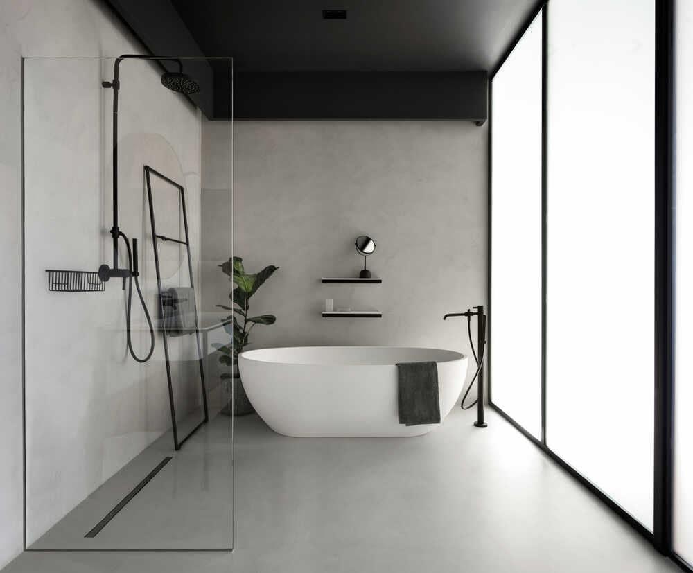 bathroom, Bogdanova Bureau project