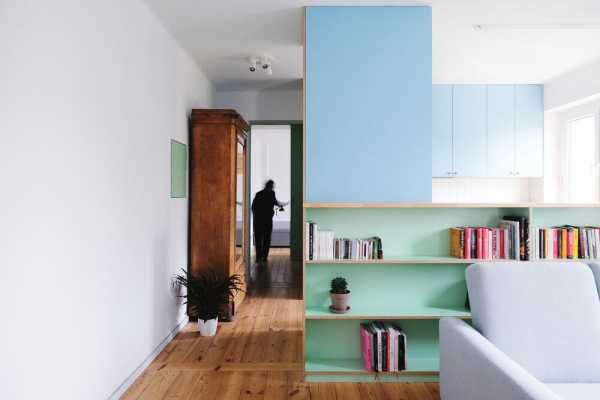 Refurbishment of an Apartment from the 50s in Pozna?, Poland