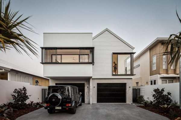 Petrel Avenue House, Residential Duplex Design by Studio Workshop