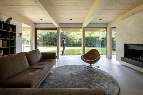 Villa C, a Salubrious and Energy-Neutral House that Exists in Harmony with Nature