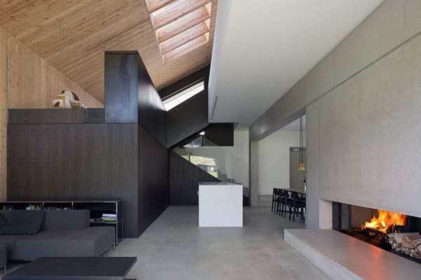 House in Studen by D'Arcy Jones Architects