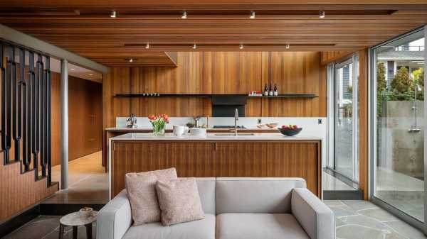 Portage Bay House, a Water-Side Home Taking Inspiration from the Seattle's Maritime Heritage