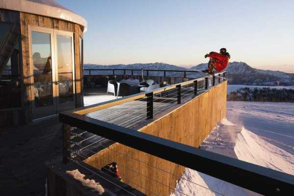 Skylodge at Powder Mountain, Utah by Skylab…a Mountaintop Event Center