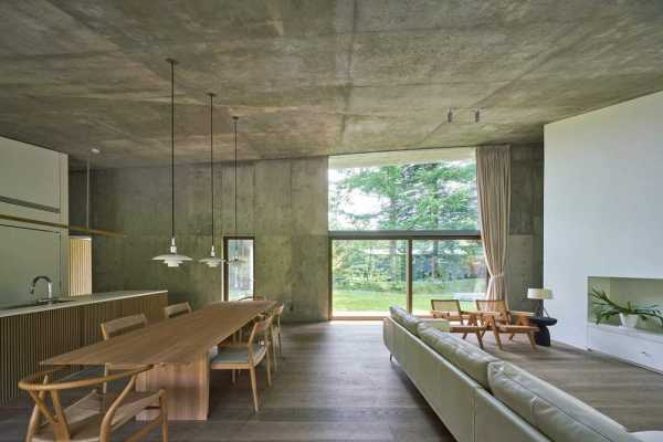 Symbiotic House for Life After Retirement in Karuizawa