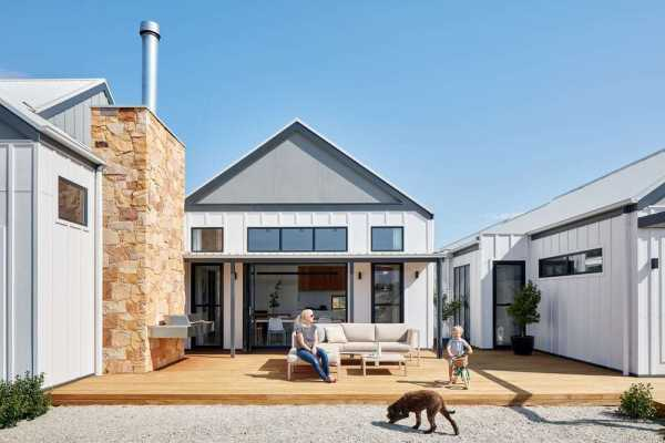 Village House Woodend by Glow Design Group