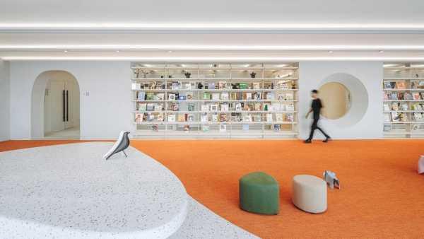The Satori Harbor, a Culturally Symbolic Library by Wutopia Lab