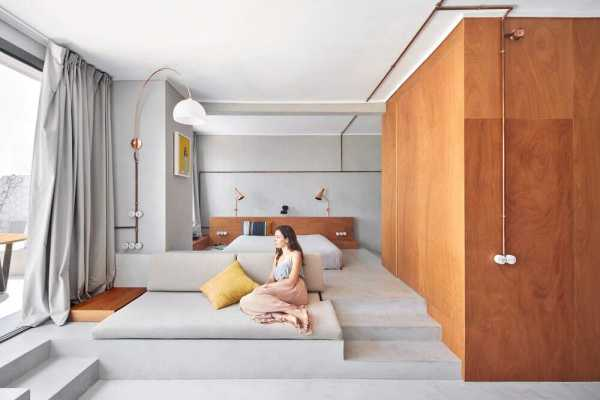 Marina Apartment, Barcelona by Cometa Architects