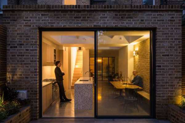 Family Townhouse, London by Anthro Architecture