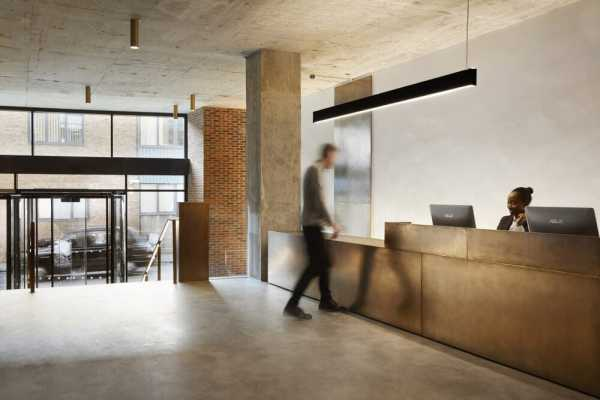 Jamestown Road Office by Ben Adams Architects