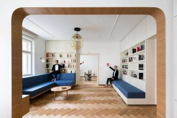 Dejvice Apartment, Prague by No Architects