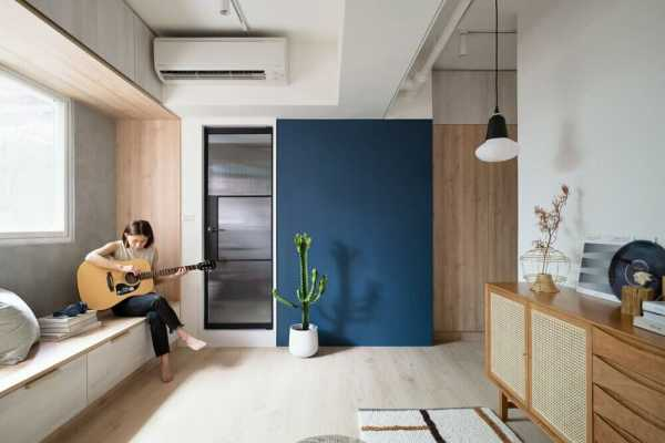 Miǎo Miǎo Apartment, Taipei City by NestSpace Design