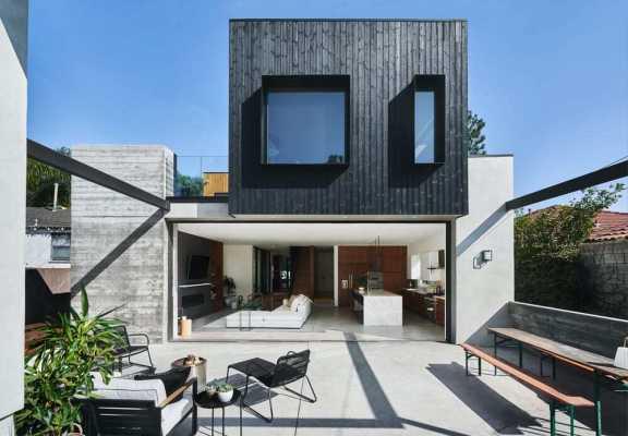 Kansas Avenue Residence by AAHA Studio