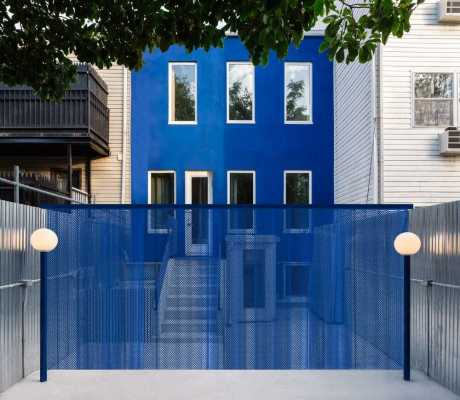 The Blue Building, Brooklyn by LOT Office for Architecture