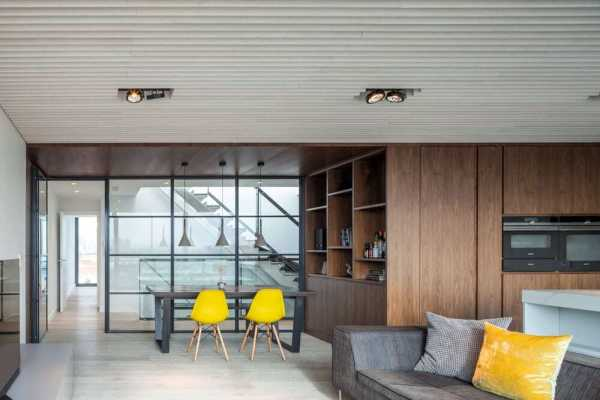 Jam Factory Penthouse in Bermondsey, London by InsideOut