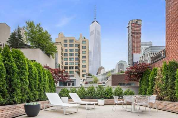 74 Duane Street Contemporary Residences by Andre Kikoski Architect