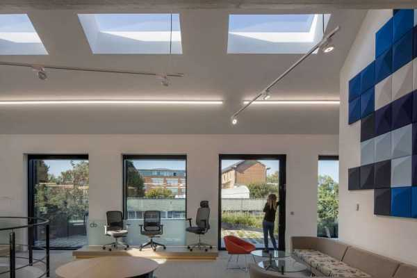 Northampton Road Showroom, London by Ben Adams Architects